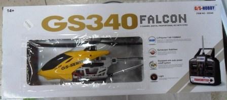 Helicoptero Falcon Control Remoto